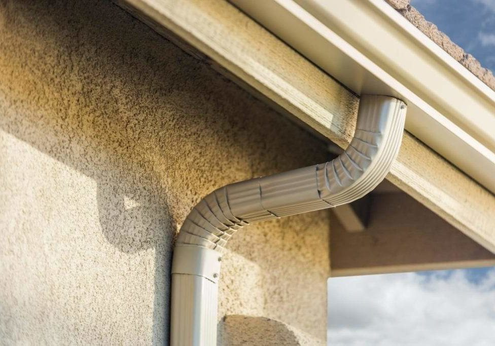 Clean Gutters Vancouver - Downspouts installation 1
